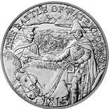 5 pounds 200th Anniversary of Waterloo - 2015 - Series: Silver 5 pounds coins - United Kingdom