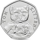 50 pence coin Tom Kitten | United Kingdom 2017