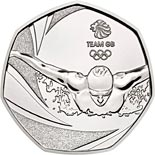 50 pence coin Team GB | United Kingdom 2016