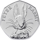 50 pence coin Peter Rabbit | United Kingdom 2016