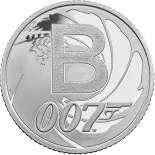 10 pences coin B - Bond... James Bond | United Kingdom 2018
