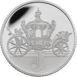 10 pences coin J – Jubilee | United Kingdom 2018