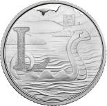10 pences coin L - Loch Ness | United Kingdom 2018