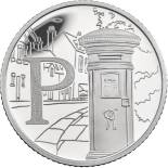 10 pences coin P – Postbox | United Kingdom 2018