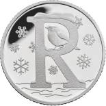 10 pences coin R – Robin | United Kingdom 2018
