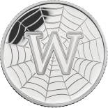 10 pences coin W - World Wide Web | United Kingdom 2018