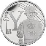 10 pences coin Y - Yeoman Warder | United Kingdom 2018