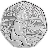 50 pence coin Paddington™ at the Station | United Kingdom 2018