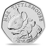 50 pence coin Mrs. Tittlemouse™ | United Kingdom 2018