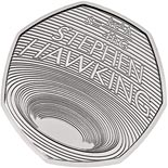50 pence coin Celebrating the Life of Stephen Hawking  | United Kingdom 2019