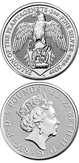 5 pound coin Falcon | United Kingdom 2020