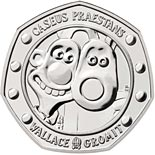 50 pence coin 30 Years of Wallace and Gromit | United Kingdom 2019