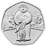 50 pence coin The Snowman | United Kingdom 2019
