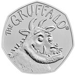 50 pence coin 20 years of The Gruffalo | United Kingdom 2019