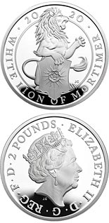 2 pound coin The White Lion of Mortimer | United Kingdom 2020