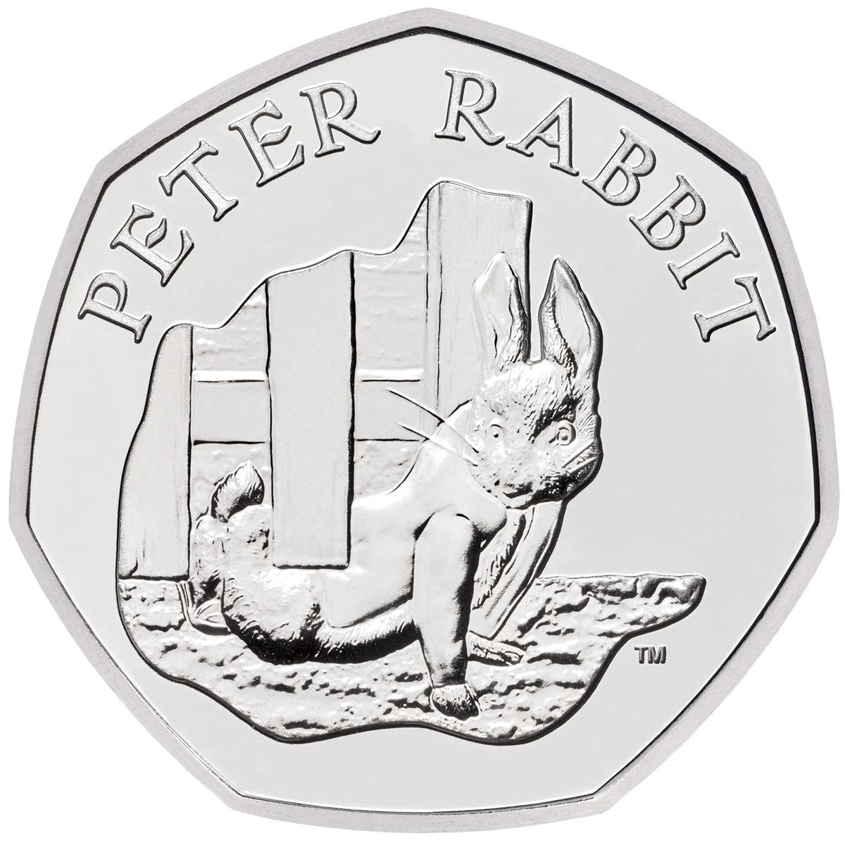 Image of 50 pence coin - Peter Rabbit | United Kingdom 2020