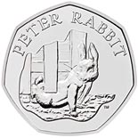 50 pence coin Peter Rabbit | United Kingdom 2020
