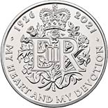 5 pound coin The Queen's 95th Birthday | United Kingdom 2021