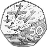 50 pence coin 50th Anniversary of the D-Day Landings | United Kingdom 1994