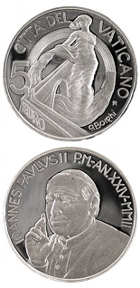 5 euro coin Europe, a Project of Peace and Unity  | Vatican City 2002