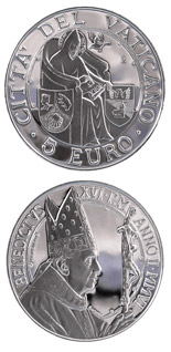5 euro coin 39th World Day of Peace | Vatican City 2006