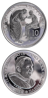 10 euro coin 81st World Mission Day  | Vatican City 2007