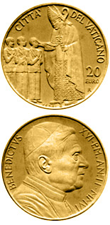 20 euro coin The Sacraments of Christian Initiation - Confirmation  | Vatican City 2006