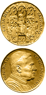 50 euro The Sacraments of Christian Initiation - Confirmation  - 2006 - Series: Gold 50 euro coins - Vatican City