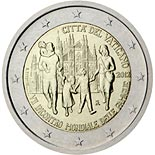 2 euro coin 7th  World Meeting of Families  | Vatican City 2012