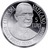 5 euro coin Centenary of the Birth of John Paul I  | Vatican City 2012
