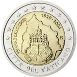 2 euro coin 75th Anniversary of the Foundation of the Vatican City State | Vatican City 2004