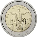 2 euro coin World Youth Day 2013 - Rio | Vatican City 2013