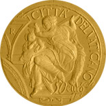 50 euro 450th Anniversary of the Death of Michelangelo - 2014 - Series: Gold 50 euro coins - Vatican City