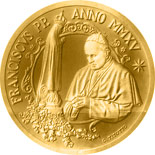 50 euro coin Pope Francis MMXV | Vatican City 2015