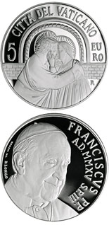 5 euro coin XIV Ordinary General Assembly of the Synod of Bishops | Vatican City 2015