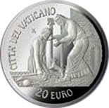 20 euro Holy Year of Mercy - 2016 - Vatican City