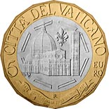 5 euro coin 600th Anniversary of the Dome of Santa Maria del Fiore | Vatican City 2018