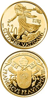 20 euro coin Acts of the Apostles: Ascension - The Church of Jerusalem | Vatican City 2018