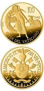 100 euro coin The Apostolic Constitutions of the Second Vatican Council | Vatican City 2019