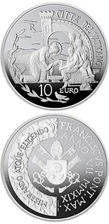 10 euro coin 52nd World Day of Peace | Vatican City 2019