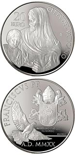 20 euro coin Pope Francis Year MMXX | Vatican City 2020