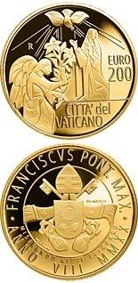 200 euro coin The Archangels: Gabriel | Vatican City 2020