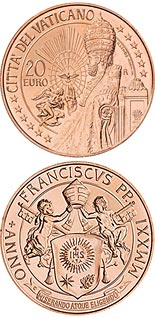 20 euro coin St. Peter | Vatican City 2021