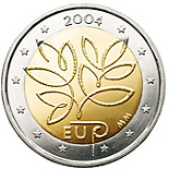 2 euro Fifth Enlargement of the European Union in 2004 - 2004 - Series: Commemorative 2 euro coins - Finland