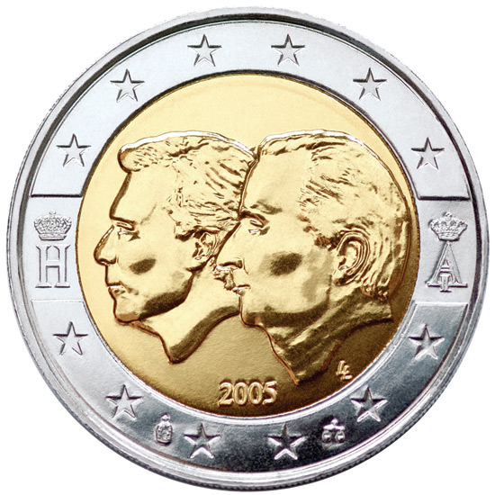 2 euro Belgium-Luxembourg Economic Union - 2005 - Series: Commemorative 2 euro coins - Belgium