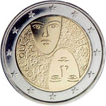 2 euro 1st Centenary of the Introduction of Universal and Equal Suffrage - 2006 - Series: Commemorative 2 euro coins - Finland