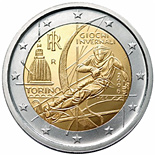 2 euro Winter Olympics in Turin 2006 - 2006 - Series: Commemorative 2 euro coins - Italy