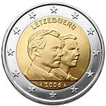 2 euro 25th Birthday of Hereditary Grand Duke Guillaume - 2006 - Series: Commemorative 2 euro coins - Luxembourg