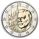 2 euro Grand Ducal Palace - 2007 - Series: Commemorative 2 euro coins - Luxembourg