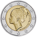2 euro 25th Anniversary of the Death of Grace Kelly - 2007 - Series: Commemorative 2 euro coins - Monaco